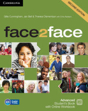 face2face Second edition - Advanced Student's Book + Online Workbook