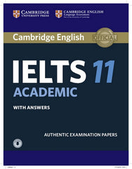 Cambridge English IELTS - Academic 11 student's book + answers + audio file