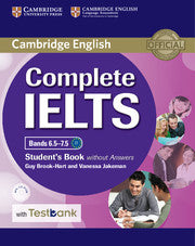 Complete IELTS Bands 6.5-7.5 Studentsbook without answers+CDRom Test