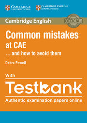 Common Mistakes at CAE... and How to Avoid Them Book + Testbank