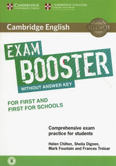 Cambridge English Exam Booster students For First And First For Schools