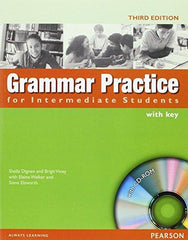 Grammar Practice - Intermediate book with key + cd-rom