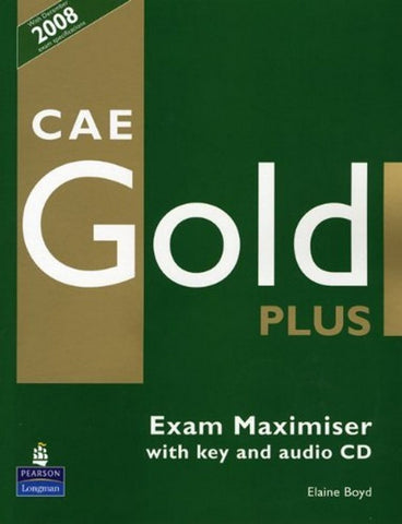 CAE Gold Plus - Maximiser with key book + audio-cd