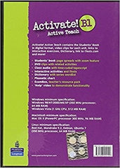 Activate! B1 teachers active teach cd-rom