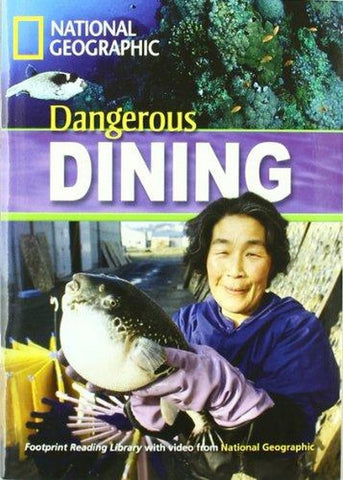 Footprint Reading Library Intermediate: Dangerous Dining 3 book + multi-rom