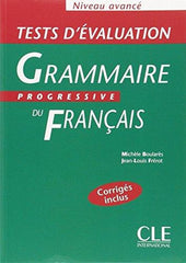 Grammaire progressive du français - Avancé tests d'evaluation