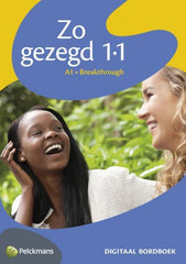 Zo gezegd 1.1 Breakthrough digitaal interactief bordboek