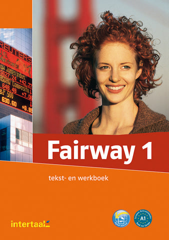 Fairway 1 tekst- en werkboek met 2 audio-cd's