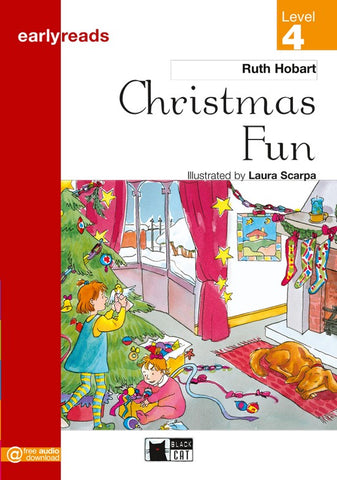 Earlyreads Level 4: Christmas Fun book + online MP3
