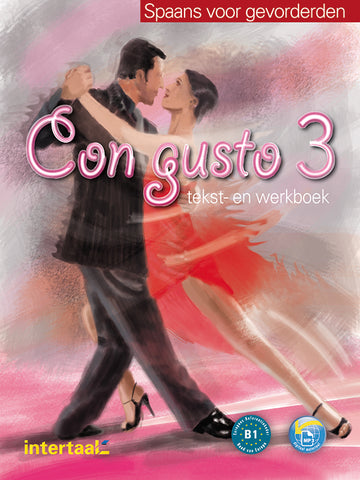 Con gusto 3 tekst-/werkboek + audio-cd's (2x)