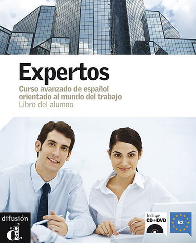 Expertos libro del alumno + CD audio + DVD