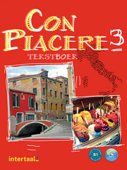 Con piacere 3 tekstboek + audio-cd