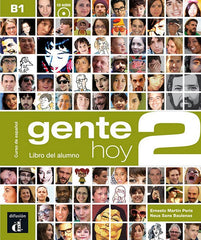 Gente Hoy 2 libro del alumno + CD audio