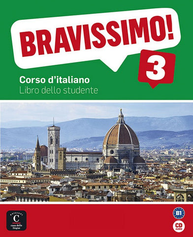 Bravissimo! 3 libro dello studente + CD audio