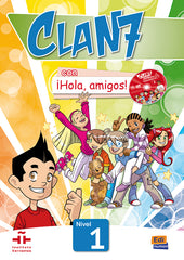Clan 7 con ¡Hola, amigos! 1 libro del alumno + contension digital