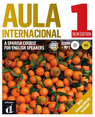 Aula internacional - a Spanish course for English speakers - new edition 1 tekst-/werkboek + mp3-cd