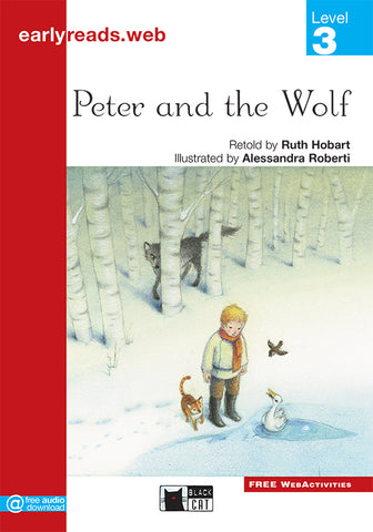 Earlyreads Level 3: Peter and the Wolf book + online MP3