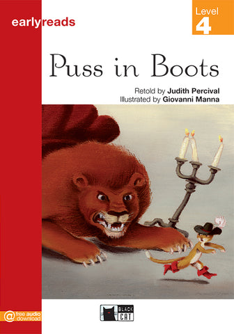 Earlyreads Level 4: Puss in Boots book + online MP3