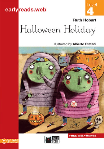 Earlyreads Level 4: Halloween Holiday book + online MP3