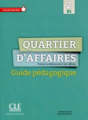 Quartier d'affaires B1 guide pédagogique