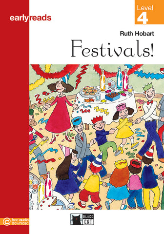 Earlyreads Level 4: Festivals! book + online MP3