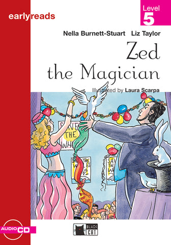 Earlyreads Level 5: Zed the Magician book + audio CD