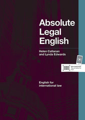 Absolute Legal English course book + audio CD