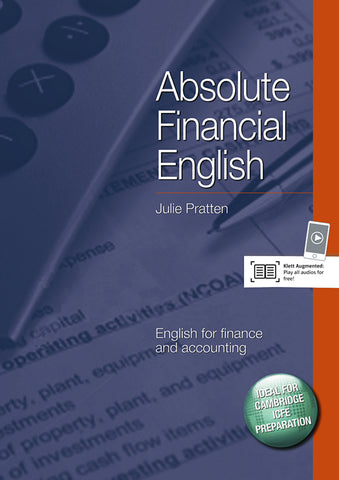 Absolute Financial English course book + audio CD