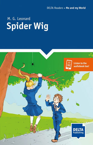 Delta Reader Me and my World: Spider Wig book + app