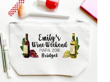 Load image into Gallery viewer, Wine Weekend Personalized Tote Bag