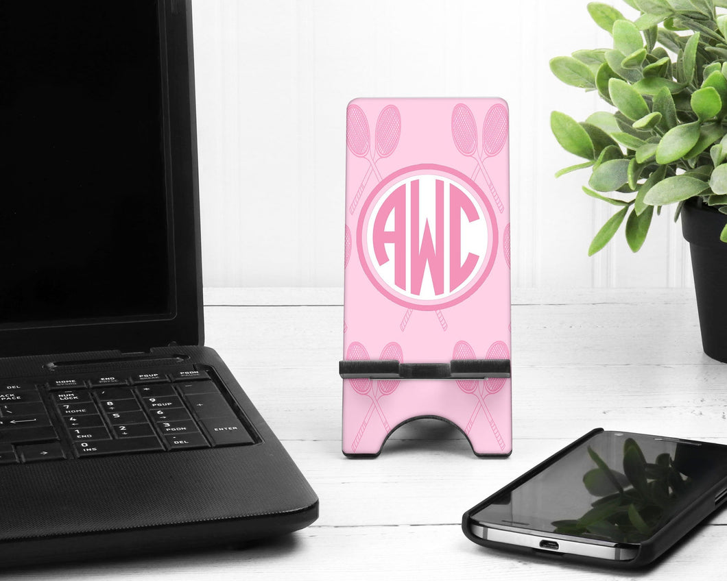 Tennis Personalized Cell Phone Stand
