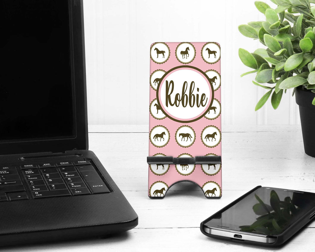 Horse Personalized Cell Phone Stand