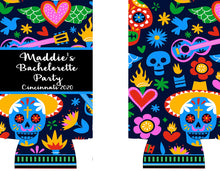 Load image into Gallery viewer, Fiesta Party Huggers. Bachelorette Favors. Engagement Party! Slim Can Fiesta Birthday Party Favors! Down to Fiesta! Slim Can Bachelorette!
