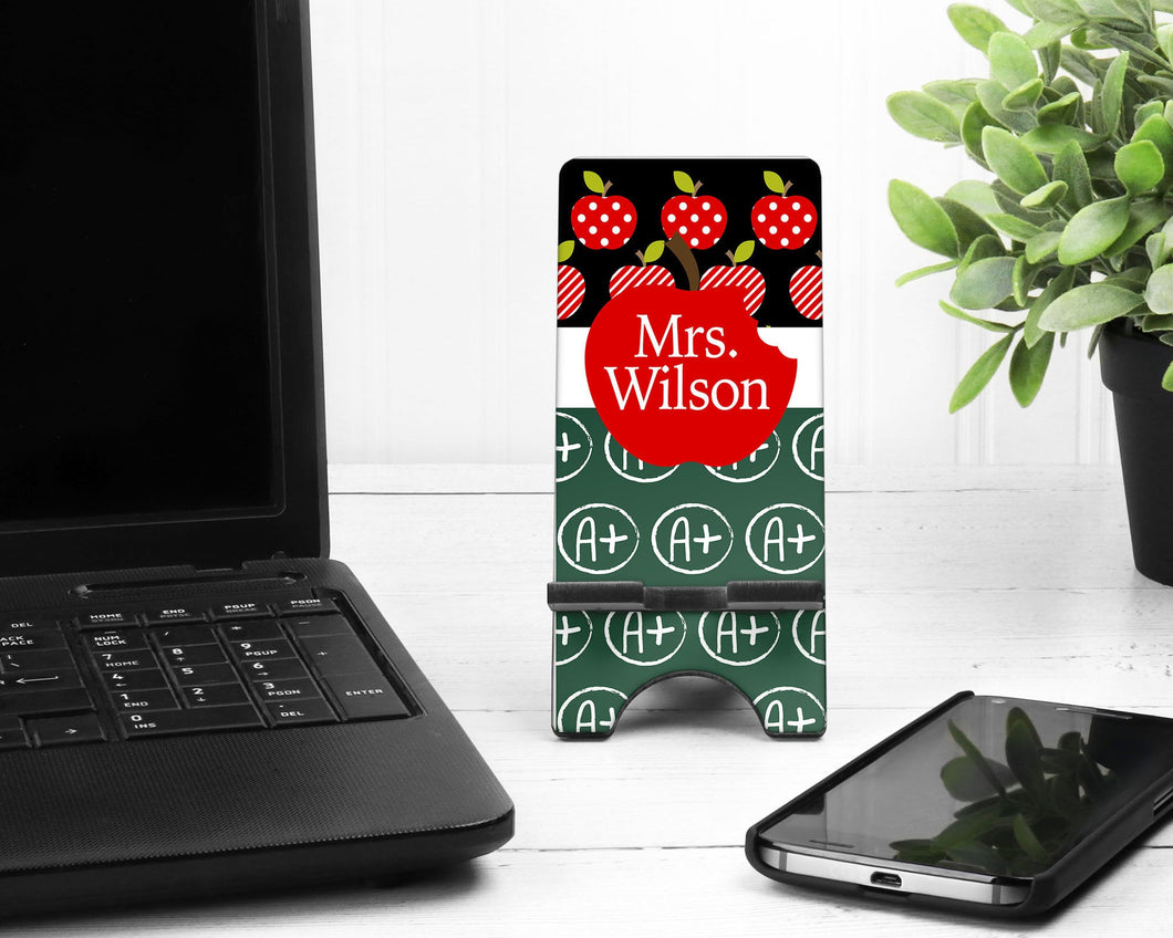 Teacher's Personalized Cell Phone Stand