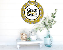 Load image into Gallery viewer, Henna Gold Personalized Room Sign