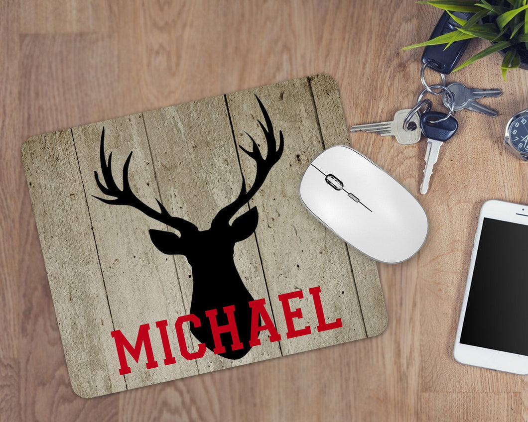 Antler Personalized Mouse Pad
