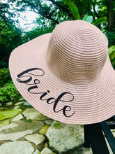 Load image into Gallery viewer, Bachelorette Boho Beach Hat