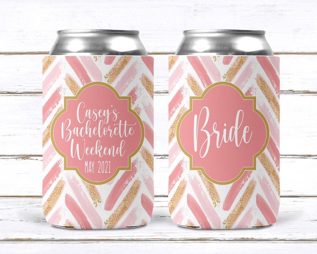 Rose Gold Personalized Party Huggers