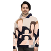 Personalised Faceless Illustration Photo Design All Over Print Unisex Hoodie - UH