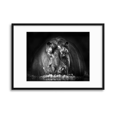 Power by Gorazd Golob Framed Print - UH