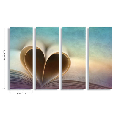 A Love Story by Marcus Hennen Canvas Print - UH