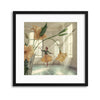 Flower Dance by David Dubnitskiy Framed Print - UH