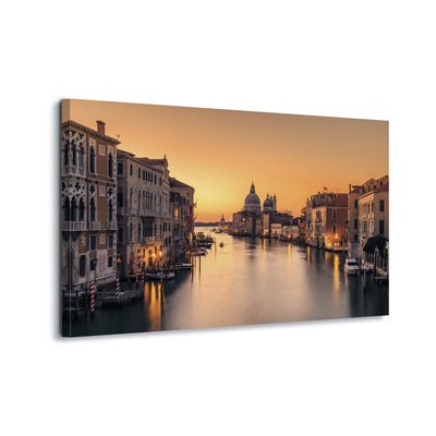 Dawn on Venice by Eric Zhang Canvas Print - USTAD HOME