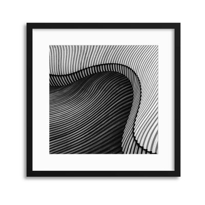 The Wood Project II - Sea Shore by Luc Vangindertael Framed Print - UH