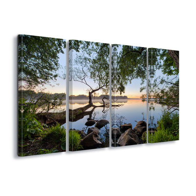 Lake View by Keller Canvas Print - UH