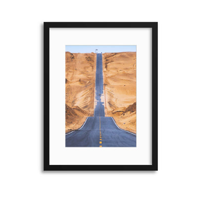 Heaven Road by Tianqi Framed Print - UH