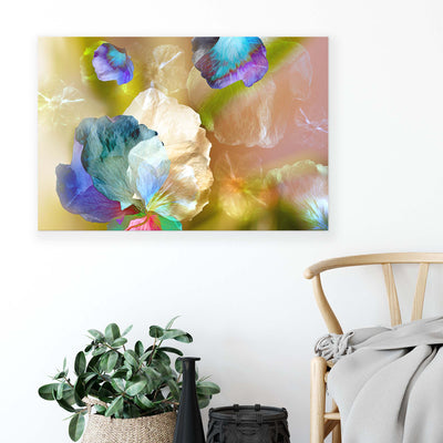 Floating Petals by Ludmila Shumilova Canvas Print - USTAD HOME