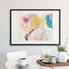 Ethereal Flowers by Ludmila Shumilova Framed Print - USTAD HOME