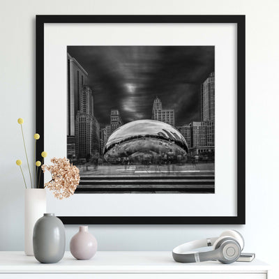 Cloud Gate by Shelley Quarless Framed Print - UH