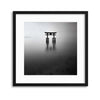 Floating Torii by Yancho Sabev Framed Print - UH